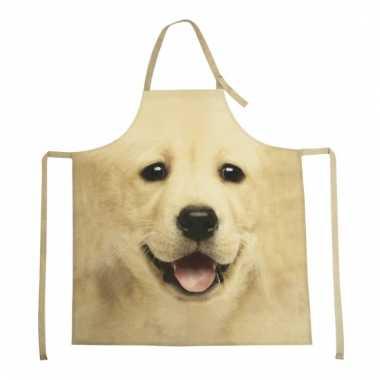 Keukenschort labrador hond