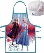 Disney frozen keukenschort koksmuts kinderen