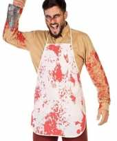 Horror slachter keukenschort bloed volwassenen