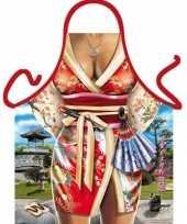 Sexy keukenschort geisha