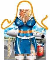 Sexy keukenschort stewardess